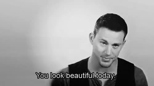 Watch and share Channing Tatum Telling You You Re Beautiful GIFs on Gfycat