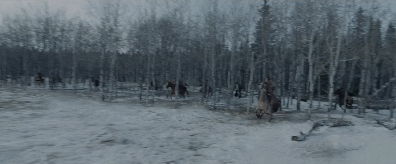 HighQualityGifs, filmmakers, Loved the Revenant trailer- but Leo's horse is fake as hell. Here's a gif. (reddit) GIFs