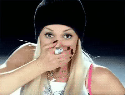 awkward, gwen stefani, no doubt, oops, paranoid, scared, skeptical, suspicious, uh oh, whoops, yikes, Gwen Stefani Oops GIFs