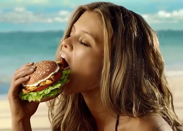 Watch and share Nina Agdal GIFs and Burger GIFs by Geez Dude on Gfycat