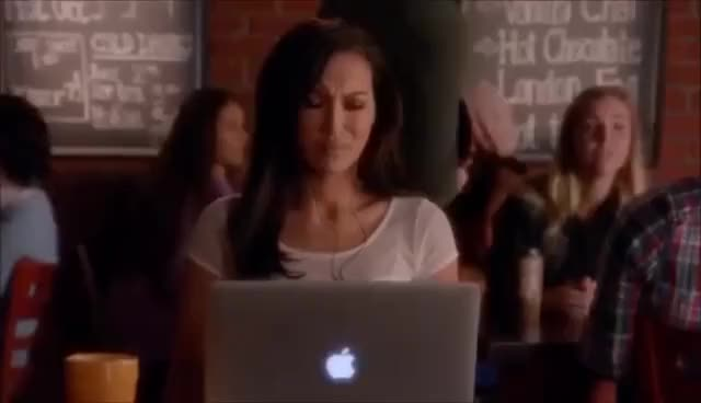 Watch Glee   Fondue for two with Santana's abuela 6x06 GIF on Gfycat. Discover more related GIFs on Gfycat
