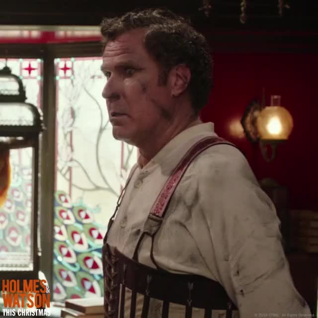 Watch this holmes & watson GIF by Holmes & Watson (@holmesandwatson) on Gfycat. Discover more holmes & watson, holmes and watson, impossible, john watson, no way, really, sherlock holmes, shocked, surprise, will ferrell GIFs on Gfycat