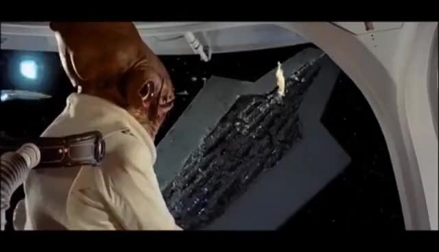 Watch and share Star Wars: Admiral Ackbar - All Scenes. GIFs on Gfycat
