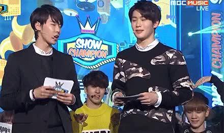 Watch Random VIXX gifs: 2/? (Ken & Hyuk hugging SM Rookies Doyoung GIF on Gfycat. Discover more doyoung, hyuk, jaehyun, ken, my gifs, smrookies, vixx, vixx gifs, vr GIFs on Gfycat