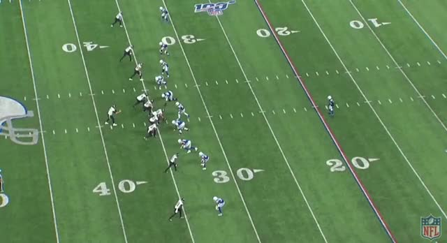 Watch and share JAX IND (2019): Chark Turns The Seam Into A Dig Outruns SIngle High Hooker GIFs by Matt Weston on Gfycat