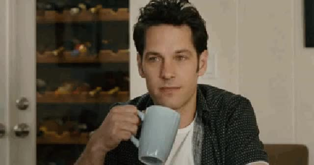 Watch and share Paul Rudd GIFs by Reactions on Gfycat