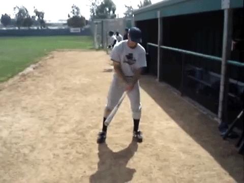AliensAmongUs, eaf, Alien swinging a baseball bat. (reddit) GIFs