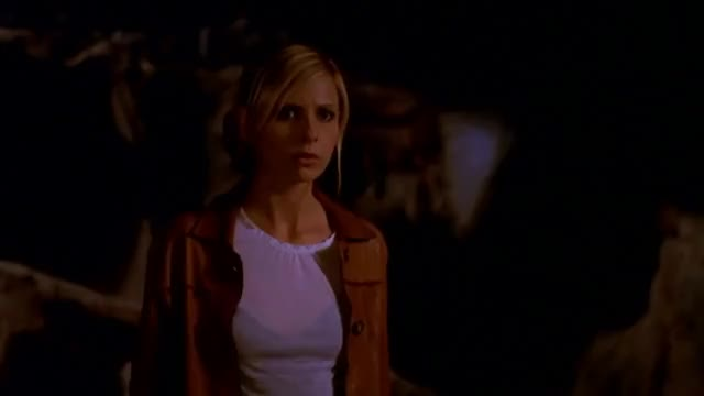 Watch Buffy 7x20 - Buffy Finds The Slayer Weapon GIF on Gfycat. Discover more All Tags, Faith, angel, anya, buffy, caleb, dawn, giles, sarah michelle gellar, spike, willow, xander GIFs on Gfycat