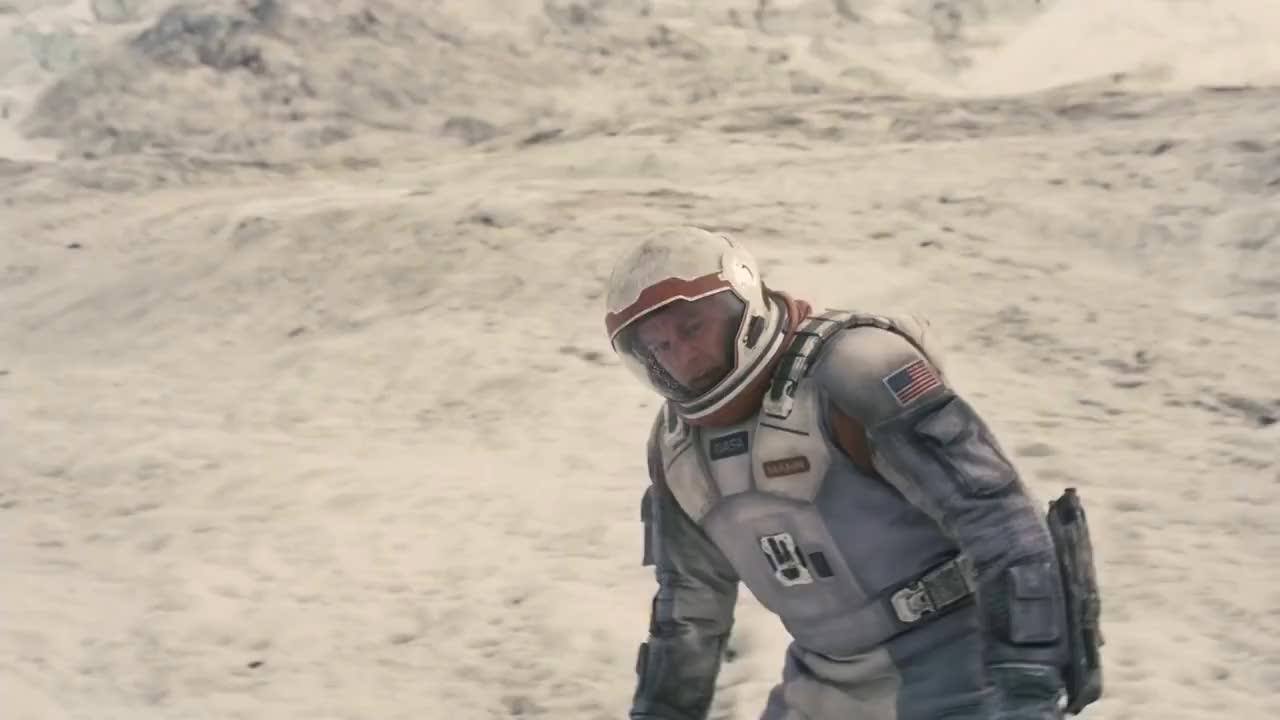 interstellar, Best Scene of Interstellar - Dr.Brand saves Cooper GIFs