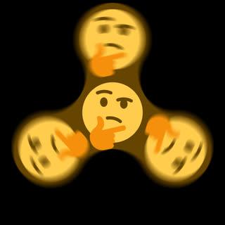 confused, emoji, hhhmmm, hmm, thinking, thinking face, hmm GIFs