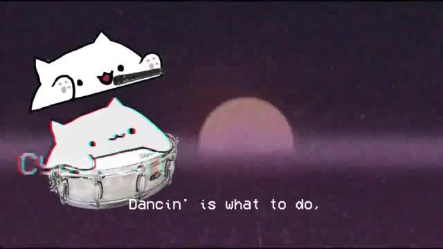 Watch and share Aaron Smith Dancin GIFs and Bongo Cat Dancing GIFs by cinnabonplay on Gfycat