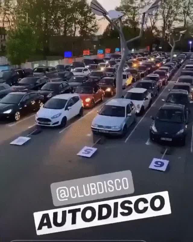 Watch and share The Drive-in Rave In Germany GIFs on Gfycat