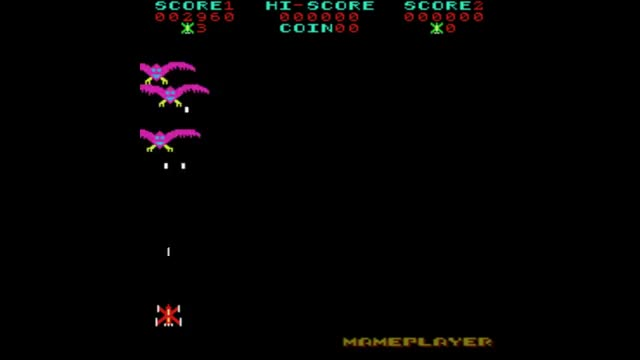 Phoenix 1980 Amstar Mame Retro Arcade Games GIF | Find, Make