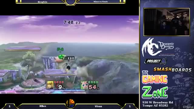 Crs  Hungrybox Puff Mario & Olimar vs Vixen ZSS