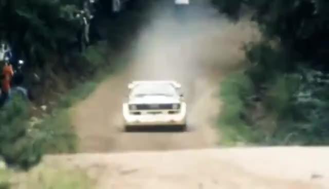 audi s1 quattro rally, audi s1 GIFs
