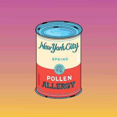allergy, new york city, pollen, spring, I have had a lot of this thing called #allergyrecently #gif  GIFs