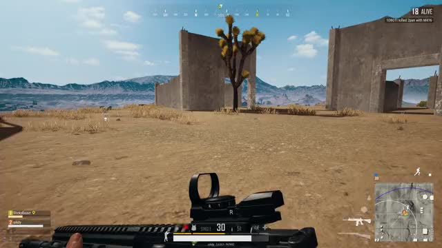Watch and share Vlc-record-2018-02-02-19h16m21s-PLAYERUNKNOWN GIFs by SwissYahtz on Gfycat