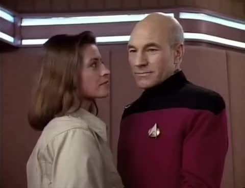 Watch and share Patrick Stewart GIFs and Kissing GIFs on Gfycat