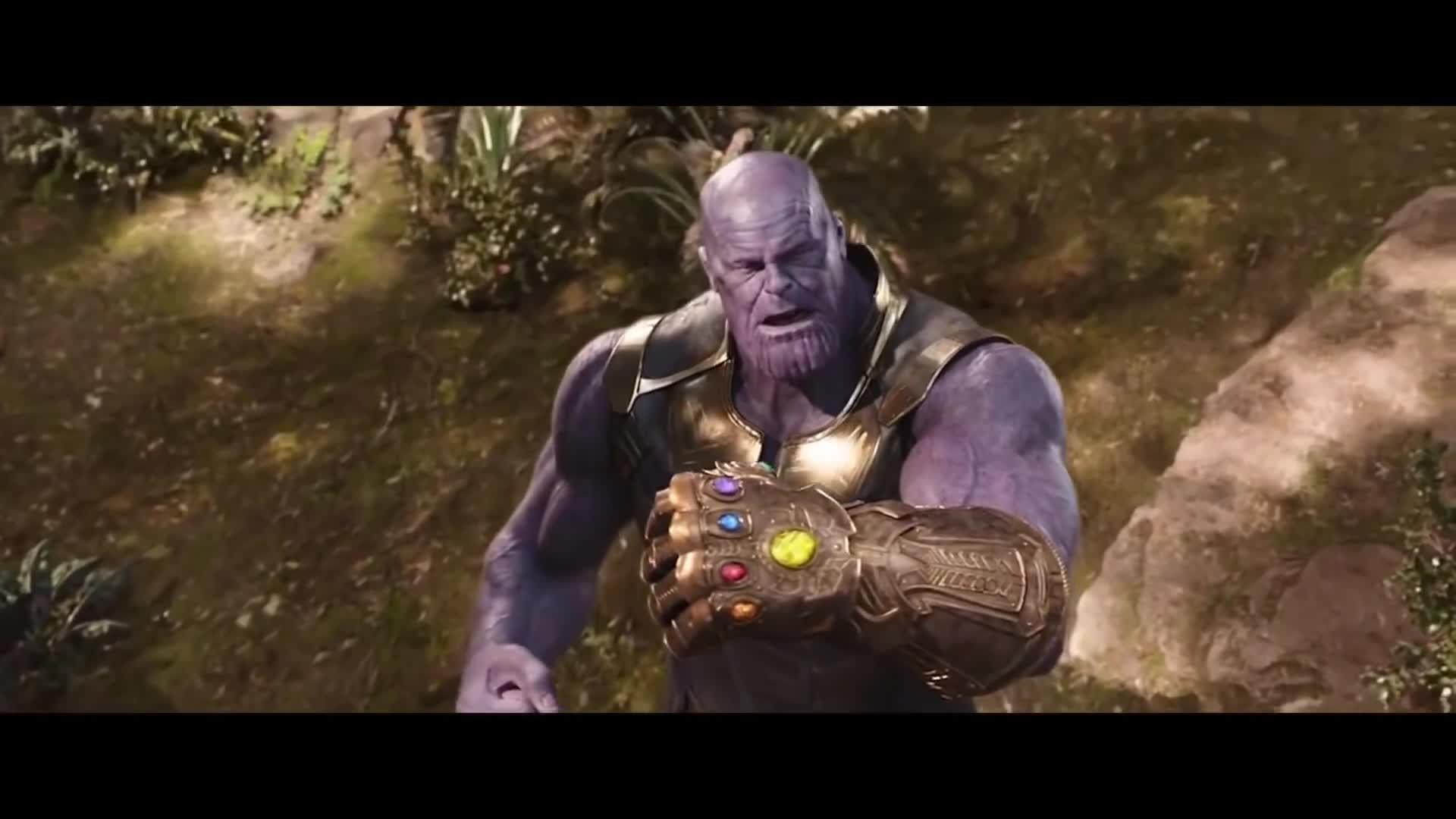 Avengers Infinity War 2018 Thor Kills Thanos Ending Scene Hd