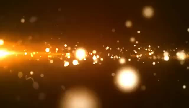 Watch and share Glowing Golden Particle (FREE) : Motion Graphics GIFs on Gfycat
