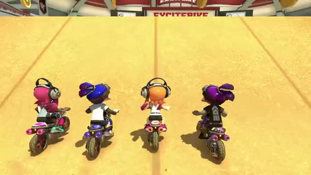 Watch and share Mario Kart 8 Deluxe GIFs and Splatoon Inklings GIFs by Mr. Panda on Gfycat