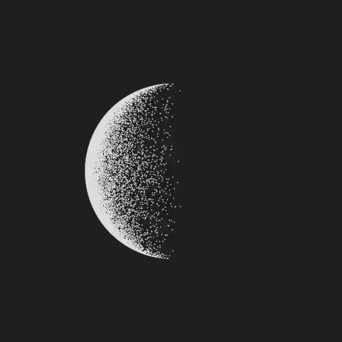 Watch Second GIF on Gfycat. Discover more Animaiton, Black and White, Cinema 4D, Illustration, art, artists on tumblr, c4d, design, eclipse, gif, loop, looping, motion, space GIFs on Gfycat