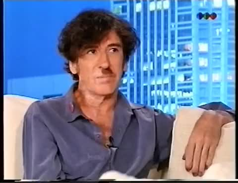 Watch and share Susana Gimenez Entrevista A Charly García, Año 2000 GIFs on Gfycat