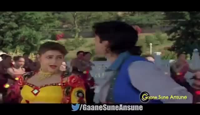 Watch and share Bholi Bhali Ladki | Kumar Sanu, Alka Yagnik | Sabse Bada Khiladi 1995 | Akshay Kumar GIFs on Gfycat