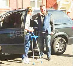 Watch and share Crutches GIFs on Gfycat