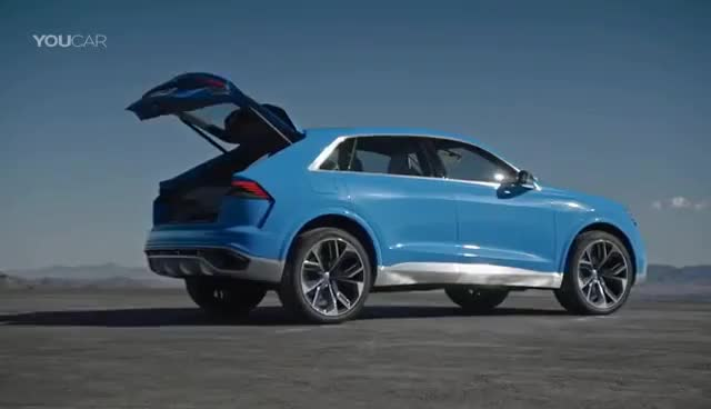 Watch Audi Q8 2018 - Luxury SUV a bit sportier and more aggressive GIF on Gfycat. Discover more related GIFs on Gfycat