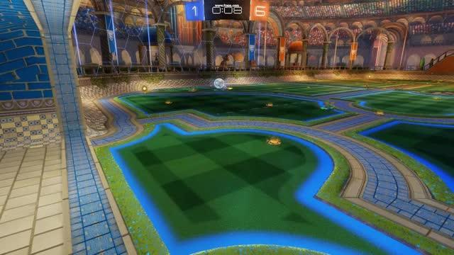 Rocket League - Pass - Goal