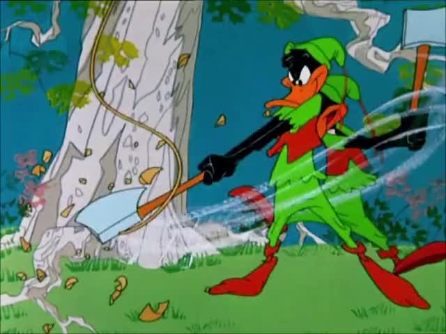Watch and share Daffy Duck - Robin Hood Daffy (1958) ITA GIFs on Gfycat