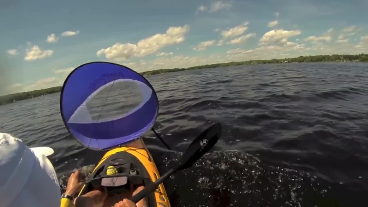 Wind, kayak, paddle, pungo12, sailing, Wind Paddle Kayaking GIFs