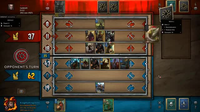 Watch SlowPoke GIF by KingNothing2000 (@kingnothing2000) on Gfycat. Discover more Gwent, Gwent Moments, Gwent: The Witcher Card Game, King, King Nothing, Moments, Nothing, Nothing but King Moments GIFs on Gfycat