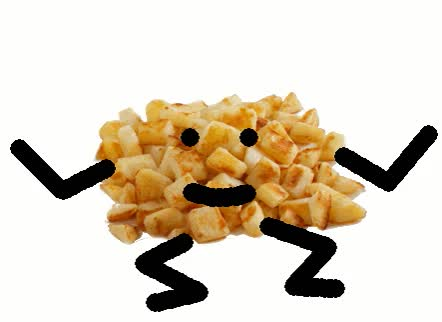 Watch and share Hash Browns Gif GIFs on Gfycat