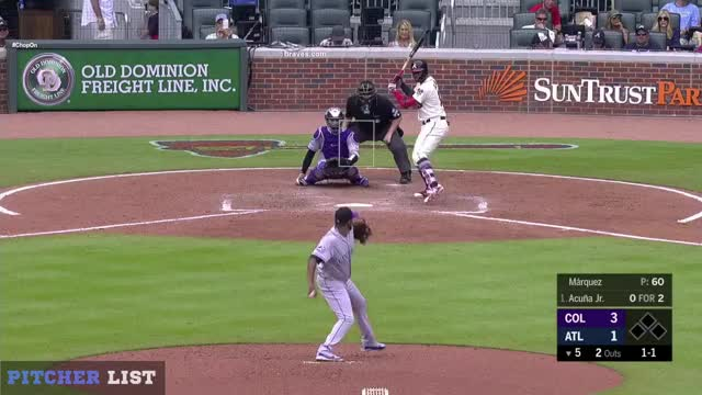 Watch German Marquez FF GIF by @henry.still on Gfycat. Discover more Atlanta Braves, Colorado Rockies, German Marquez FF, baseball GIFs on Gfycat
