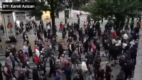 Watch Another Video of Chemnitz, Germany. Some even chant National Socialism, now! GIF on Gfycat. Discover more Dessert42 GIFs on Gfycat