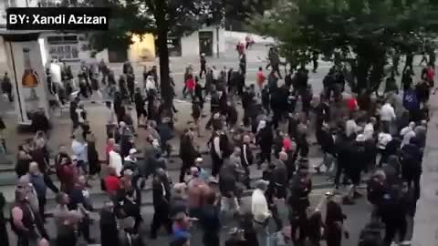 Dessert42, Another Video of Chemnitz, Germany. Some even chant National Socialism, now! GIFs