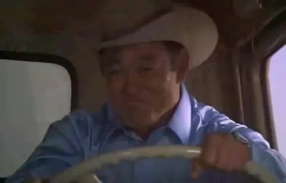 truck, smoky and bandit -  police car door removal scene GIFs