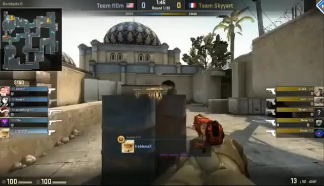 Team fl0m vs Team Skyyart - BO3 Map2 @Dust2 - 1/4final - ROG Community Challenge Grand Finals Lan