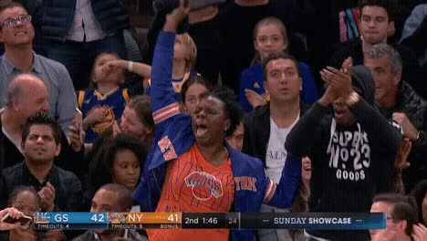 Watch and share Knicks Fans GIFs on Gfycat