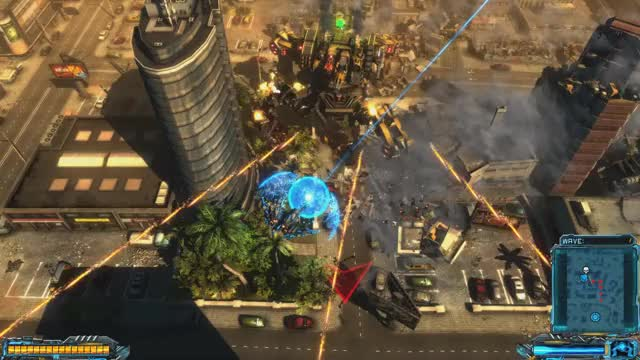 Watch X-Morph: Defense - Building cut in half in South Africa GIF by EXOR Studios (@exorstudios) on Gfycat. Discover more co-op, explosions, game, gaming, shooter, towerdefense, xmorphdefense GIFs on Gfycat