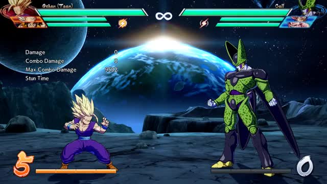 Watch Teen Gohan - Midscreen to Corner - 2M into Sparking w Assist into 5-Super - 9751 damage GIF by @robro on Gfycat. Discover more related GIFs on Gfycat