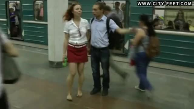 Watch Barefoot girls in city GIF on Gfycat. Discover more related GIFs on Gfycat