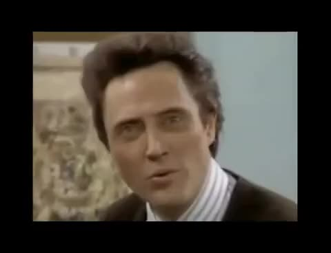 Watch Christopher Walken I don't know GIF on Gfycat. Discover more related GIFs on Gfycat