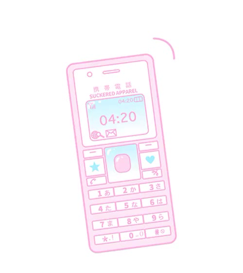 Watch Cell bywww.suckeredapparel.comDo not alter or use this image GIF on Gfycat. Discover more 90s, animated, cartoon, cell phone, cute, gif, japanese cell phone, kawaii, mobile phone, pastel, pink, suckered apparel, telephone GIFs on Gfycat