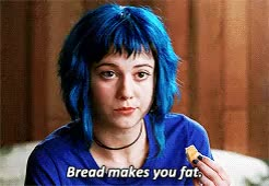 Watch and share Bread Makes You Fat GIFs on Gfycat