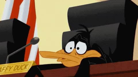 Watch this duck GIF by ioanna on Gfycat. Discover more believe, bird, bored, boring, can't, cartoon, court, daffy, duck, ducks, exhausted, it, looney, network, omg, stand, this, tired, tiring, tunes GIFs on Gfycat