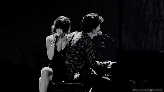 Watch Posted 3:51pm Wed 20th Jul 2016 with  Tagged#selena gomez#charlie puth#we don't talk anymore#blackandwhite#blackandwhitegif#Black an GIF on Gfycat. Discover more related GIFs on Gfycat