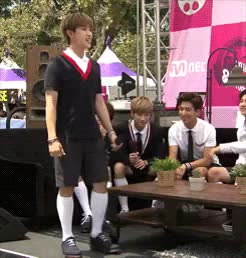 Watch The all-natural body gag GIF on Gfycat. Discover more DFLA, b1a4, sandeul GIFs on Gfycat
